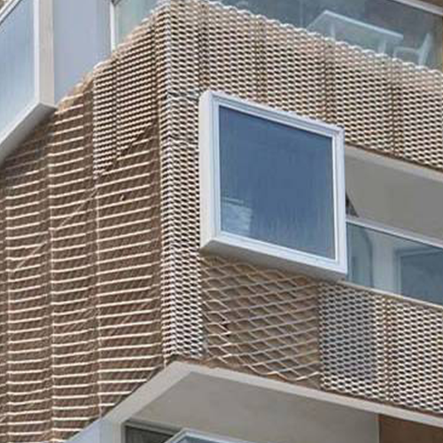 innovative expanded metal mesh materials for building architecture